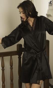 Kimono Ingrid Corail
