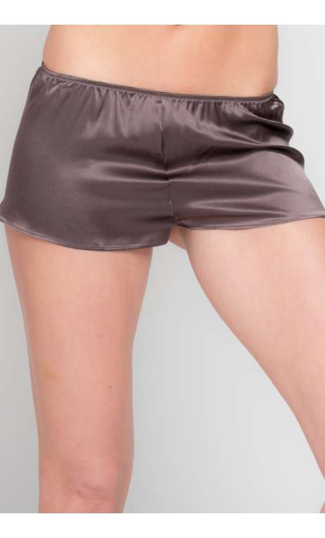 Short Ingrid Luxe Marron Glacé