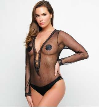 Body Résille Plumetis
