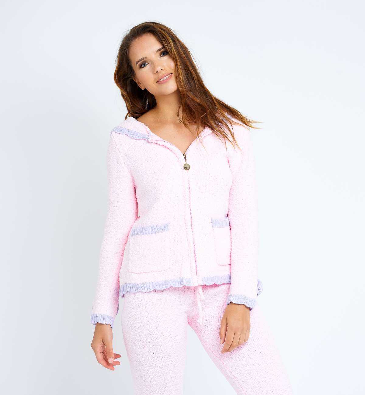 Ensemble gilet jogging pyjama doux