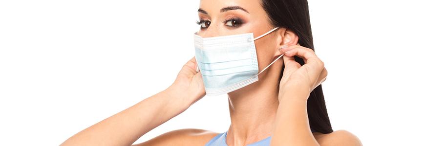 Découvrez nos Masques chirurgicaux Type IIR à usage unique: Simple ou avec Personnalisation et/ou Parfum Eucalyptus:  Fabriqués en France